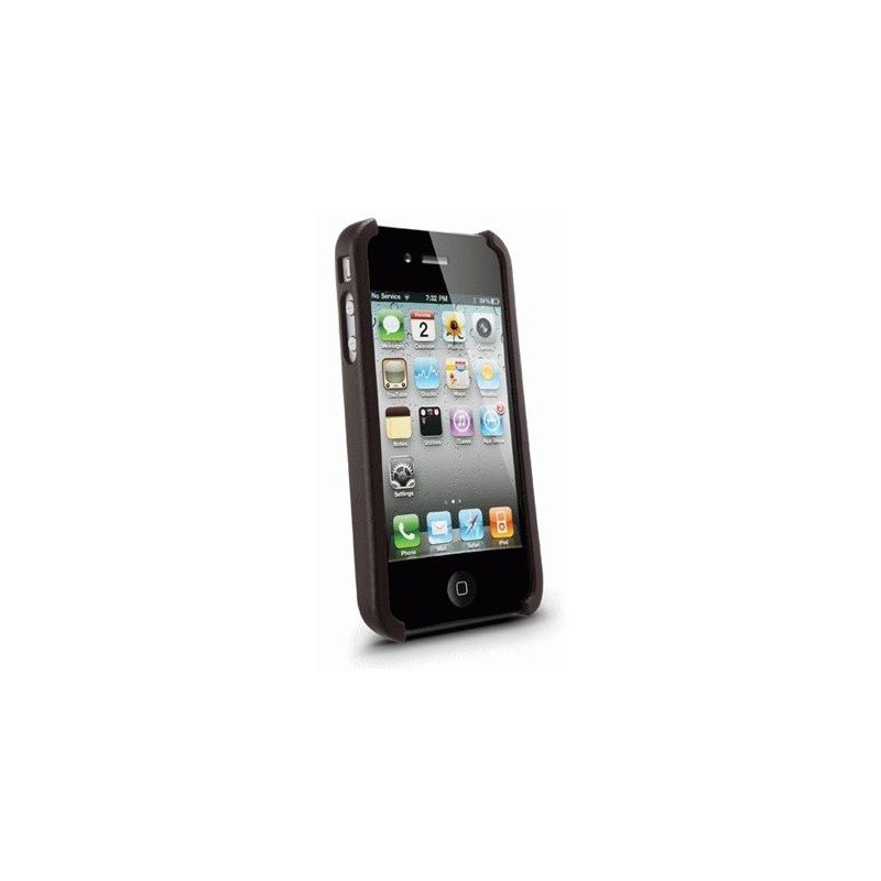 SGP iPhone 4 Case Nature Just Leather Case Brown