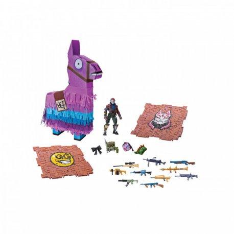 Игровая коллекционная фигурка Fortnite и набор артефактов Jazwares Llama Drama Loot Pinata (Фортнайт Лама Лут Пината) (FNT0001)