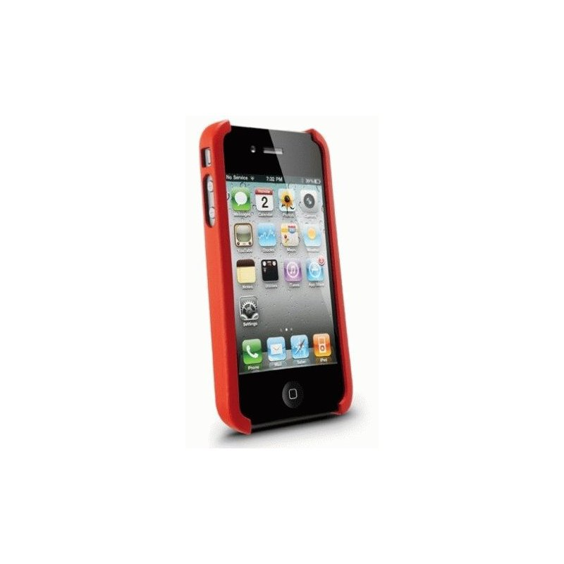 SGP iPhone 4 Case Nature Just Leather Case Red