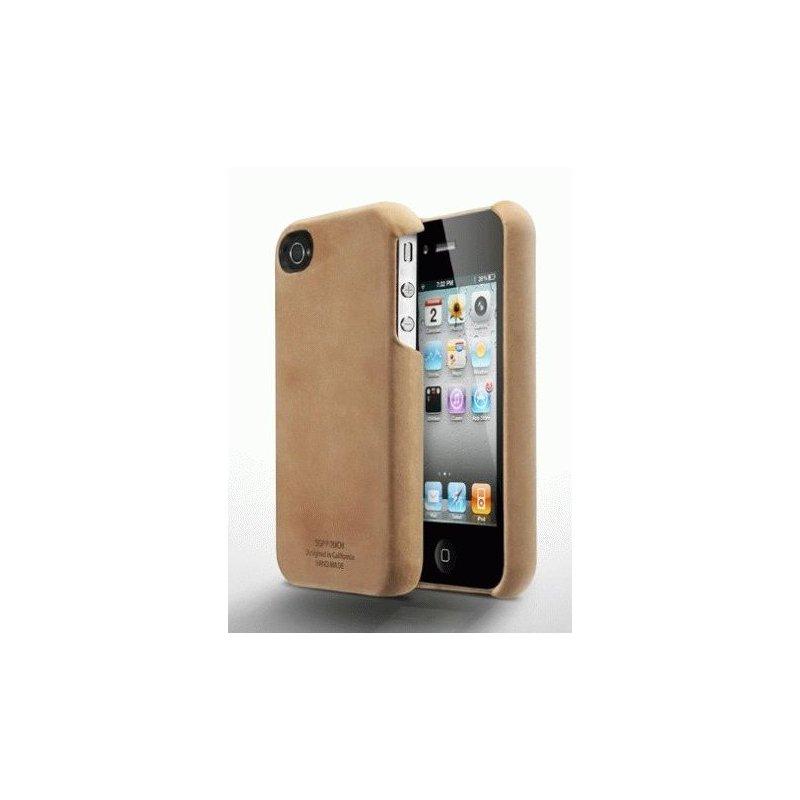 SGP Genuine Leather Grip Vintage Brown for iPhone 4/4s