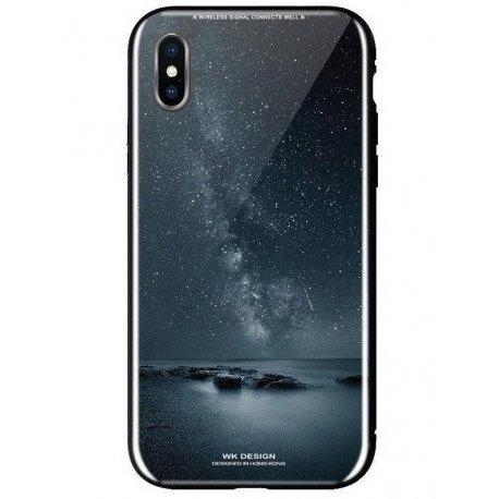 Чeхол WK для Apple iPhone XS (WPC-061) Milky way
