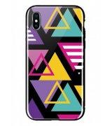 Чeхол WK для Apple iPhone XS (WPC-087) Shiny Triangle