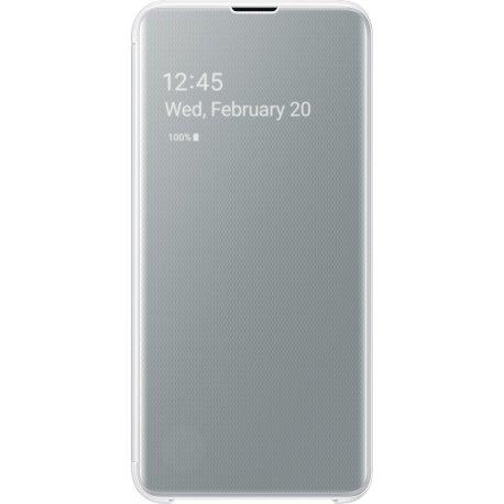 Чехол Clear View Standing Cover для Samsung Galaxy S10e (G970) White (EF-ZG970CWEGRU)
