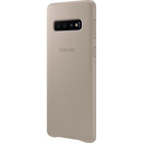 Чехол Totu Acme Leather Case для Samsung Galaxy S10 Grey (EF-VG973LJEGRU)