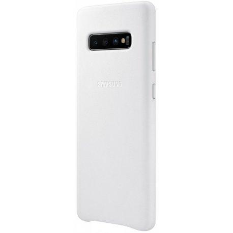 Чехол Totu Acme Leather Case для Samsung Galaxy S10 Plus White (EF-VG975LWEGRU)