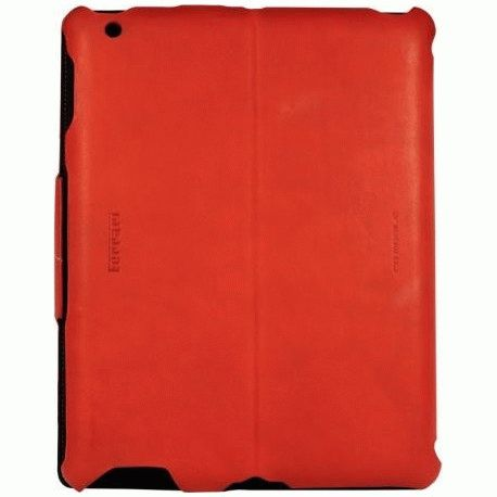 Кожаный чехол Ferrari California Leather Case Red для iPad 2