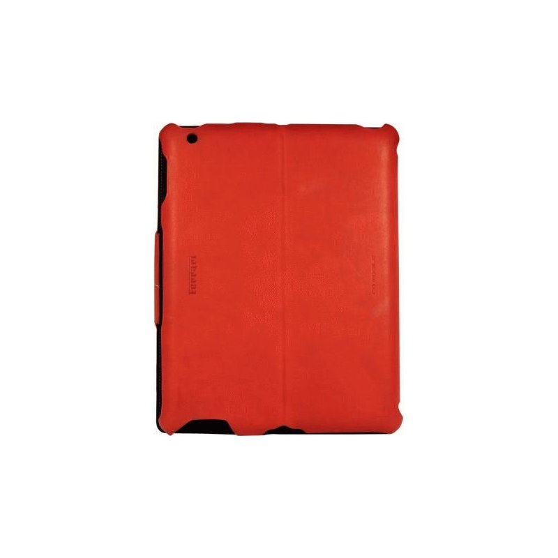 Кожаный чехол Ferrari California Leather Case Red для iPad 2