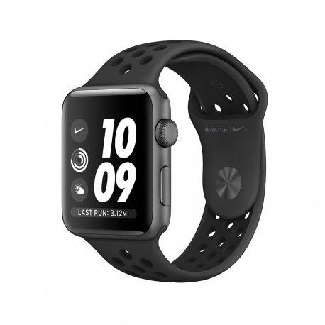 Apple Watch Series 3 Nike+ 38mm (GPS) Space Gray Case with Anthracite/Black Nike Sport Band (MTF12)