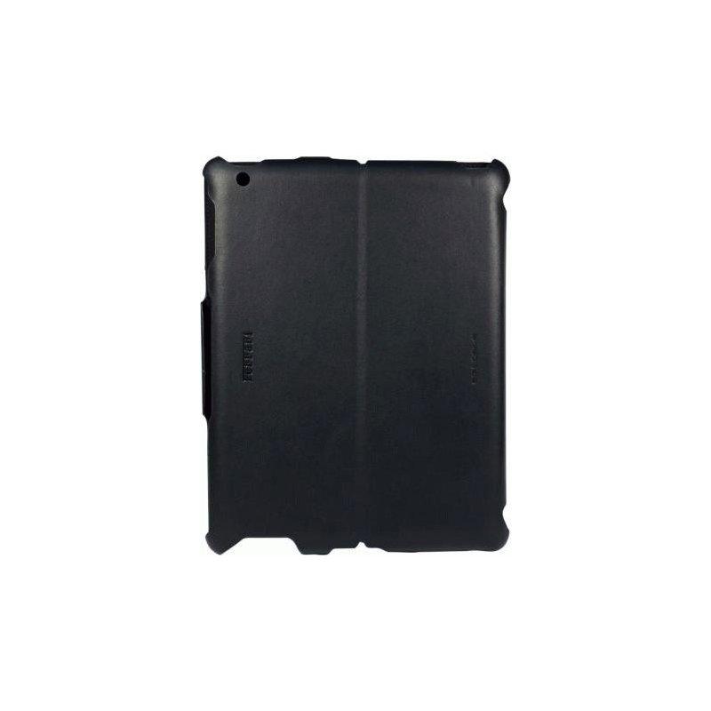 Кожаный чехол Ferrari California Leather Case Black для iPad 2