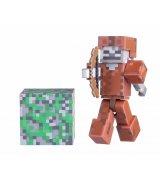 Игровая фигурка Jazwares Minecraft Скелет в кожаной броне серия 3 (16487M)