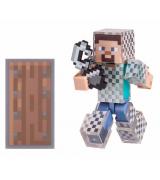 Игровая фигурка Jazwares Minecraft Стив в кольчуге серия 4 (16493M)