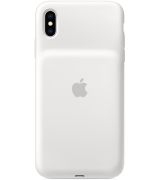 Чехол Apple iPhone XS Max Smart Battery Case White (MRXR2)