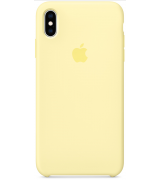 Чехол Apple iPhone XS Max Silicone Case Pacific Mellow Yellow (MUJR2)