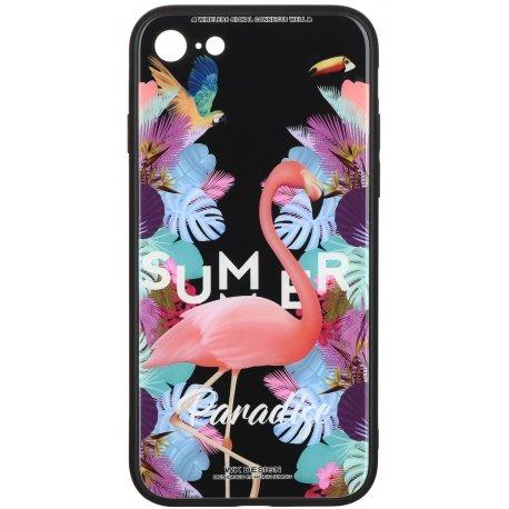 Чeхол WK для Apple iPhone 7/8 (WPC-061) Flamingo
