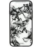 Чeхол WK для Apple iPhone 7/8 (WPC-061) Flowers BK/WH