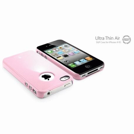 SGP iPhone 4/4s Case Ultra Thin Air Pastel Series Sherbet Pink
