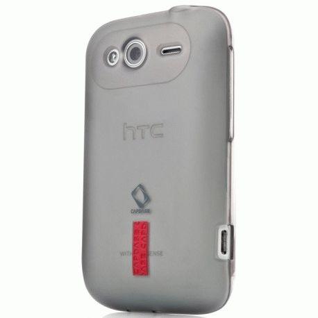 Capdase накладка Soft Jacket Xpose для HTC Wildfire S A510e Black