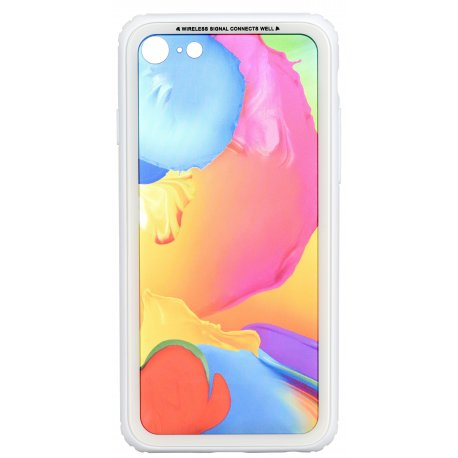 Чeхол WK для Apple iPhone 7/8 (WPC-086) Paint Splash TR