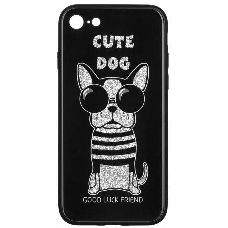 Чeхол WK для Apple iPhone 7/8 (WPC-087) Cute Dog Black