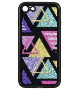Чeхол WK для Apple iPhone 7/8 (WPC-087) Shiny Triangle