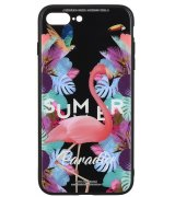 Чeхол WK для Apple iPhone 7 Plus / 8 Plus (WPC-061) Flamingo