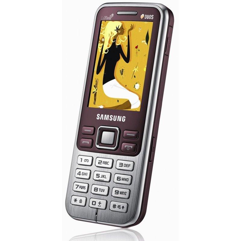 Samsung C3322 Duos red La Fleur