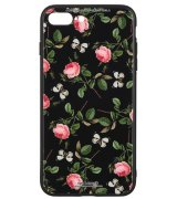 Чeхол WK для Apple iPhone 7 Plus / 8 Plus (WPC-061) Flowers RD/BK