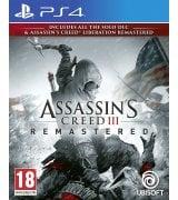 Игра Assassin's Creed III. Обновленная версия для Sony PS 4 (русская версия)