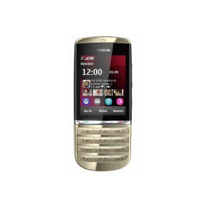 Nokia 300 Asha Light Gold