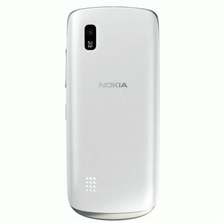 Nokia 300 Asha Silver White