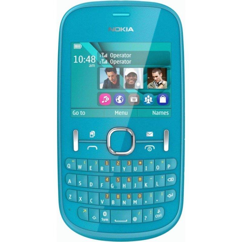 Nokia Asha 200 Duos Aqua