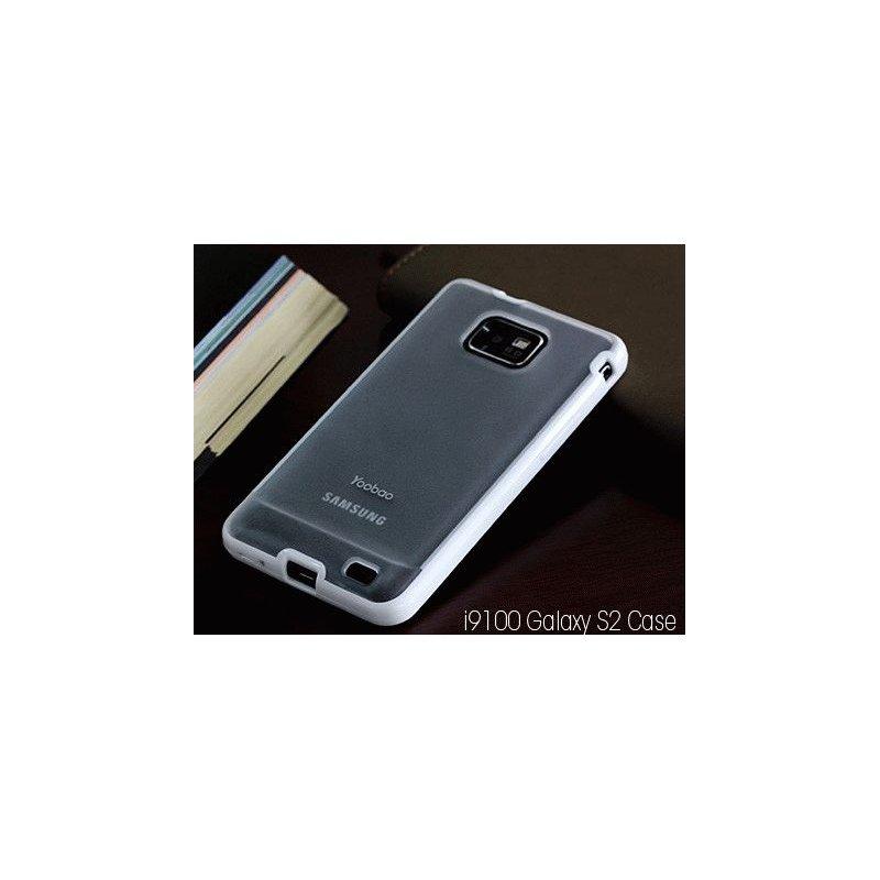 Yoobao накладка TPU Skin Cover для Samsung i9100 Galaxy S 2 White