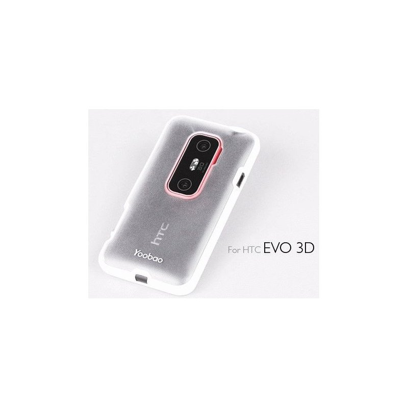 Yoobao накладка TPU Skin Cover для HTC Evo 3D X515m White