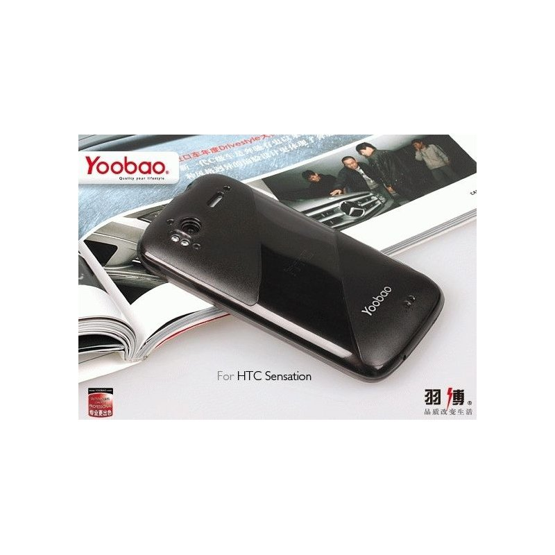 Yoobao накладка TPU Skin Cover для HTC Sensation Z710e/Z715e XE Black