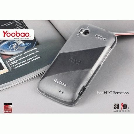 Yoobao накладка TPU Skin Cover для HTC Sensation Z710e/Z715e XE White