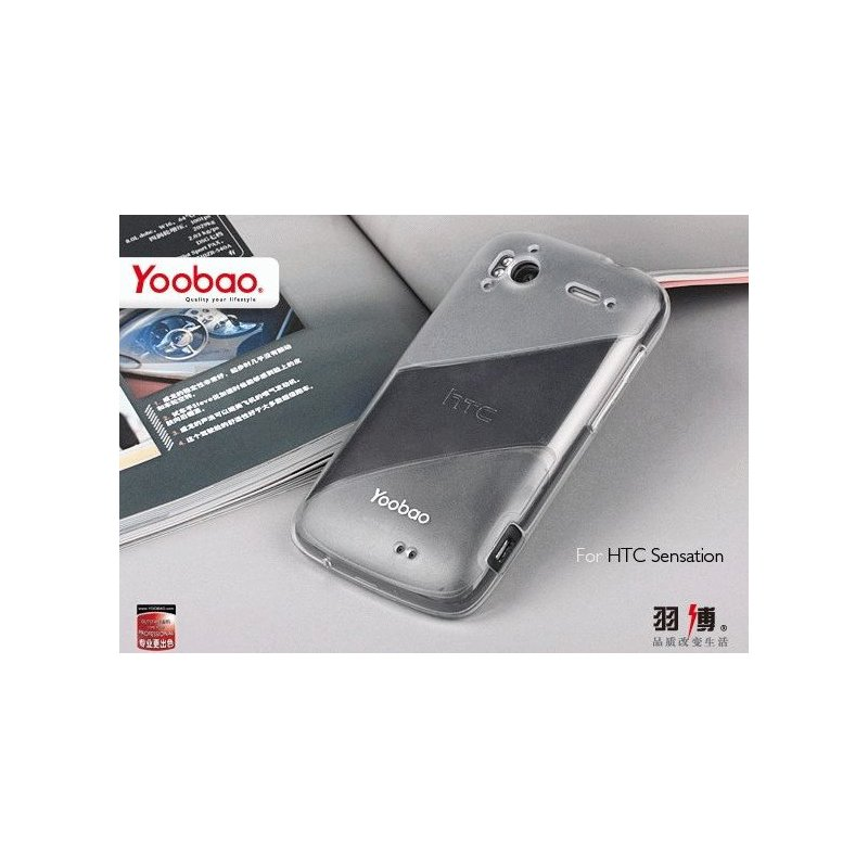 Yoobao накладка TPU Skin Cover для HTC Sensation Z710e/Z715e XE White