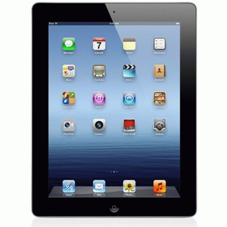 Apple New iPad 3 Wi-Fi+4G 64GB Black