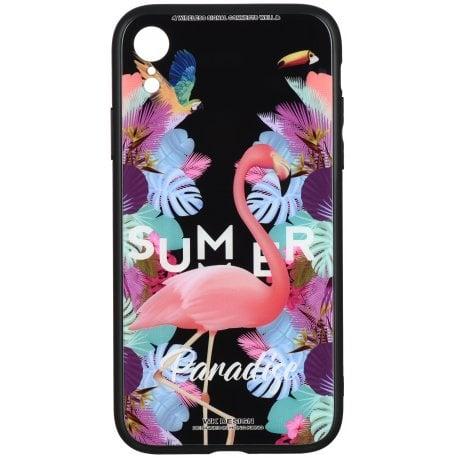 Чeхол WK для Apple iPhone XR (WPC-061) Flamingo