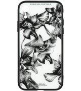Чeхол WK для Apple iPhone XR (WPC-061) Flowers BK/WH