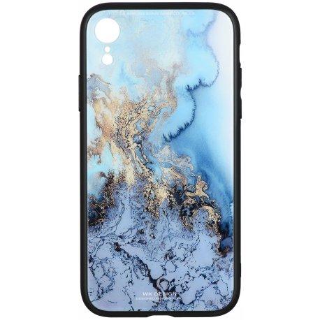 Чeхол WK для Apple iPhone XR (WPC-061) Marble wave