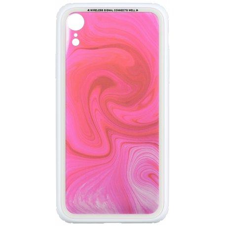 Чeхол WK для Apple iPhone XR (WPC-086) Crimson whirl