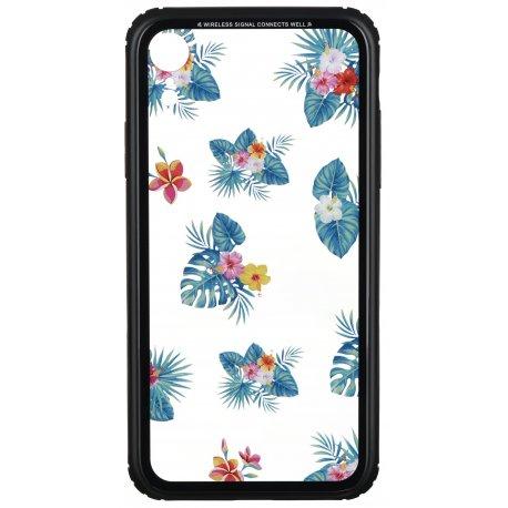 Чeхол WK для Apple iPhone XR (WPC-086) Flowers (JDK02)