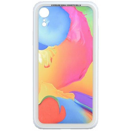 Чeхол WK для Apple iPhone XR (WPC-086) Paint Splash TR