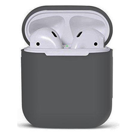Чехол Ultra Slim Silicone Case для Apple AirPods Gray