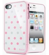 SGP iPhone 4/4s Case Linear Biskitt Series Maltese розовый