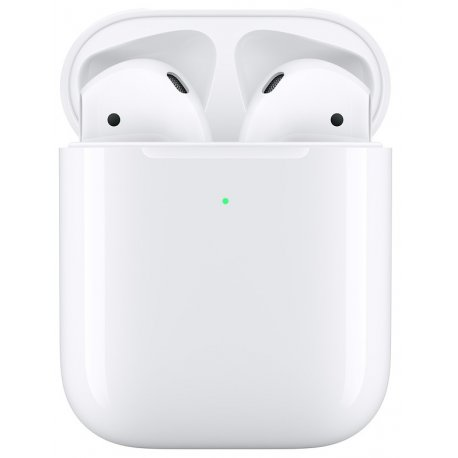 Беспроводные наушники Apple AirPods (2019) with Wireless Charging Case (MRXJ2)
