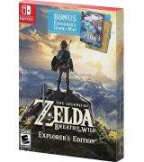 Игра The Legend of Zelda: Breath of the Wild. Explorer's Edition для Nintendo Switch (русская версия)