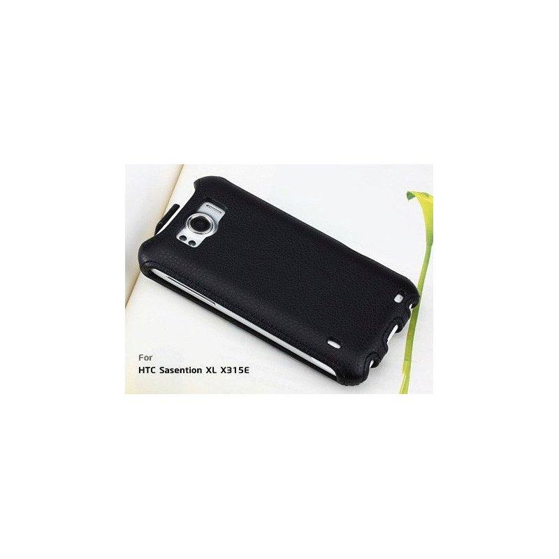 Yoobao кожаный чехол-флип для HTC Sensation XL (X315E) Black