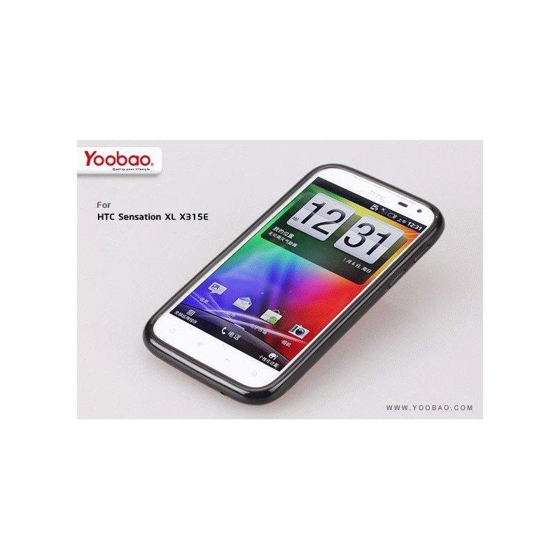 Yoobao накладка TPU Skin Cover для HTC Sensation XL (X315E) Black