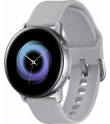 Умные часы Samsung Galaxy Watch Active Silver (SM-R500NZSASEK) + Карта памяти на 64Gb в подарок!
